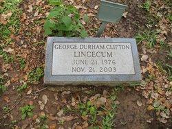 George Durham Clifton Lincecum