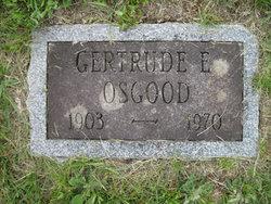 Gertrude Eleanor <i>Walsh</i> Osgood