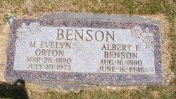 Albert Edward Benson