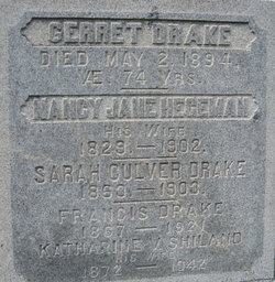 Nancy Jane <i>Hegeman</i> Drake