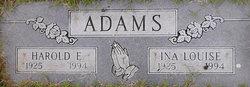 Ina Louise Louise <i>Moore</i> Adams