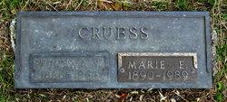 Marie Elizabeth <i>Gleason</i> Cruess