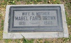 Mabel Faris Brown