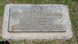 George Wiley Brown