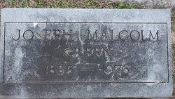 Joseph Malcolm Green, Sr