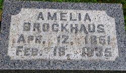 Amelia Emilie <i>Hackbarth</i> Brockhaus