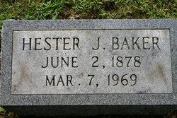 Hester J. Baker