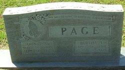 Bertha T. Page