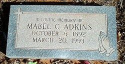 Mabel Clara <i>Castleberry</i> Adkins