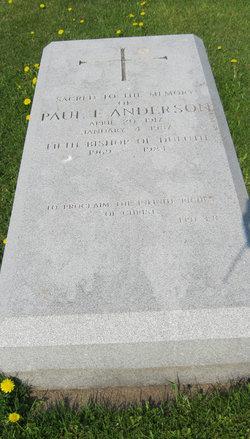 Rev Paul Francis Anderson