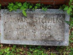 Dr Bunyan Simeon Stephens