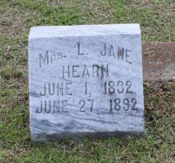 L Jane Hearn