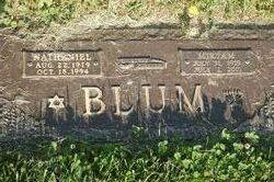Mrs Miriam Blum