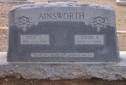 Sarah Ann <i>Markham</i> Ainsworth