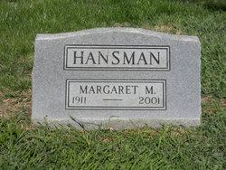 Margaret M Hansman