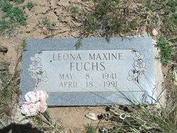 Leona Maxine <i>Reasoner</i> Fuchs