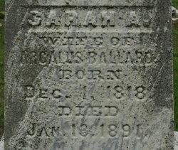 Sarah A. <i>Felt</i> Ballard