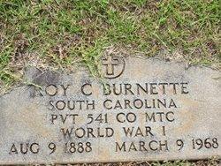Pvt Roy C. Burnette