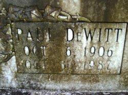 Paul DeWitt Adams