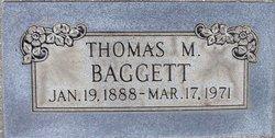 Thomas M Tommy Baggett