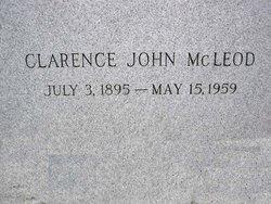 Clarence John McLeod