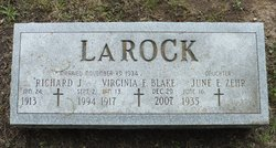 Virginia <i>Blake</i> LaRock