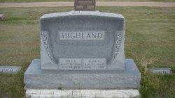 Alice Vesta <i>Elwood</i> Highland