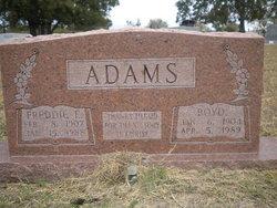 Freddie Evelyn <i>Blackman</i> Adams