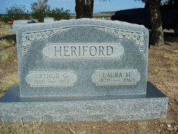 Laura M <i>Wilks</i> Heriford