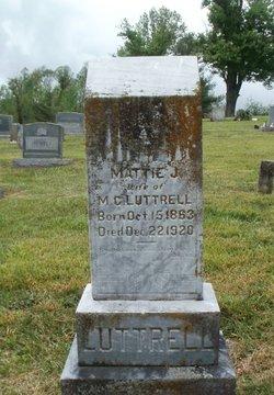 Martha J Mattie <i>Brooks</i> Luttrell