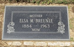 Elsa Marie <i>Rothe</i> Breunle