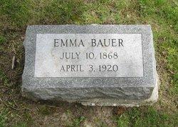 Emma Johanna <i>Last</i> Bauer