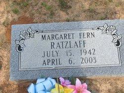 Margaret Fern <i>Lang</i> Ratzlaff