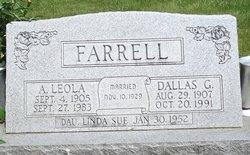 Anna Leola <i>Caldwell</i> Farrell
