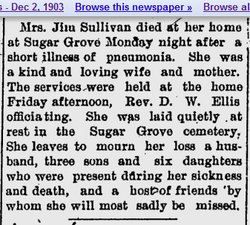 Mrs Isabel <i>Laguire</i> Sullivan