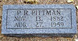 P R Pittman
