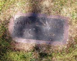 Olive Ethel <i>Ramsdell</i> Burke