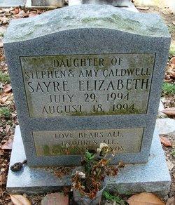Sayre Elizabeth Caldwell