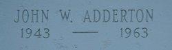 John W Adderton