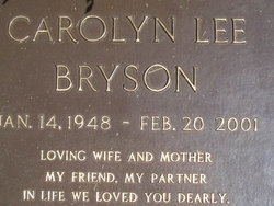 Carolyn Lee <i>Bryant</i> Bryson