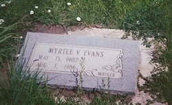 Myrtle Virginia <i>Yates</i> Evans