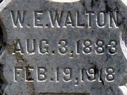 W E Walton