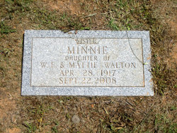 Minnie Walton