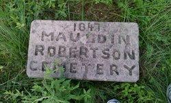 Mauldin-Robertson Cemetery