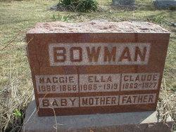 Claude Bowman