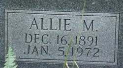 Allie Mae <i>Moseley</i> Click