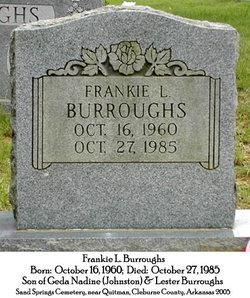 Frankie Lane Burroughs