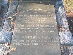 Cpl Matthew Hawton Mitchell