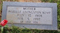 Sally Rozelie <i>Livingston</i> Kemp