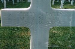 Lester A Bailey